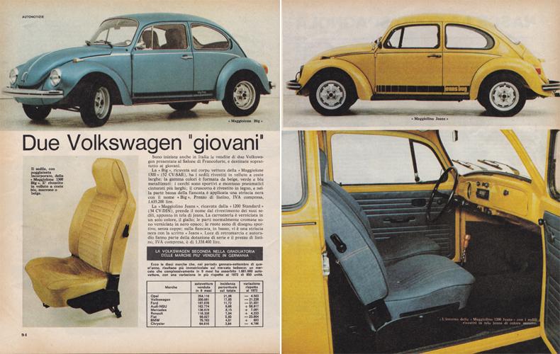 Annee Modele 1974