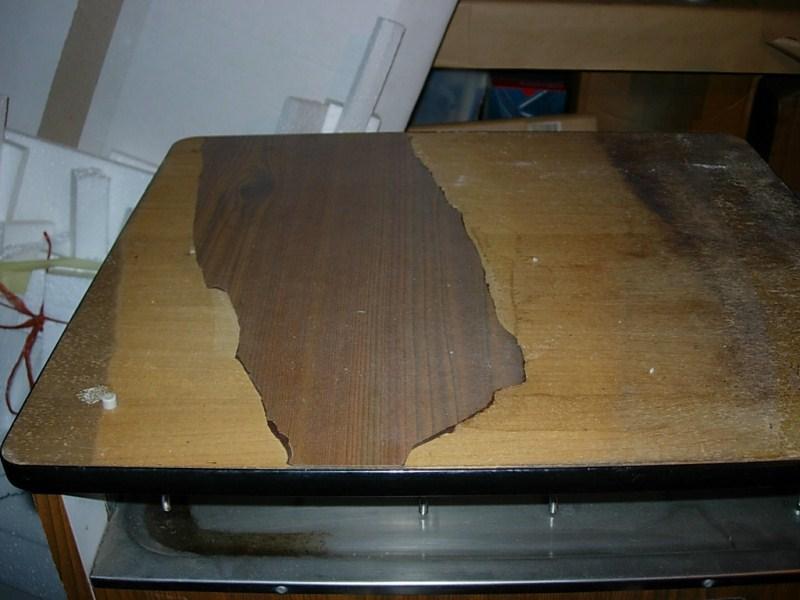 Vw afficher le sujet refaire le placage des for Plaque de zinc pour recouvrir un meuble